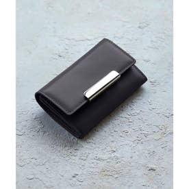 イタリアンレザー カードケース (ブラック)