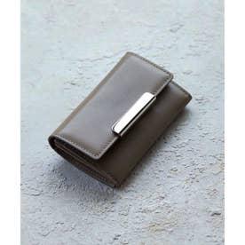 イタリアンレザー カードケース (ベージュ)