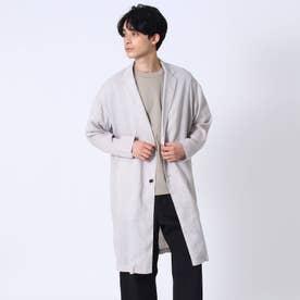 【COMFORT LINEN】リネンチェスターコート (ライトベージュ)
