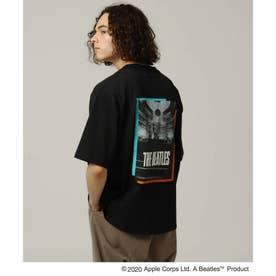 BEATLES × 「日本公演」バックプリントTシャツ (ブラック)