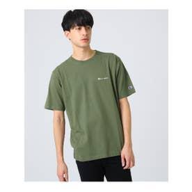 Champion for ロゴ刺繍Tシャツ (オリーブグリーン)