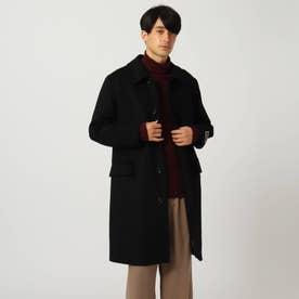 GIGATEX ステンカラーコート (ブラック)