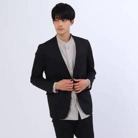 【WEB限定】SOLOTEX(R)ノーカラージャケット (ブラック)