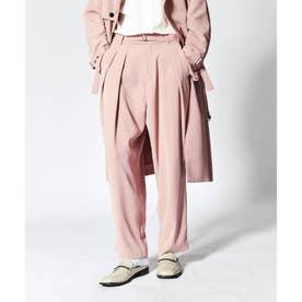ダブルサテンバルーンパンツ (ピンク)