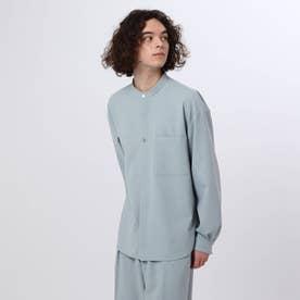CANAPA(R)バンドカラーシャツ (サックス)