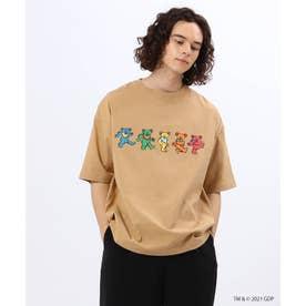 【WEB限定】GRATEFUL DEAD×tk.TAKEO KIKUCHIコラボTシャツ (ベージュ)