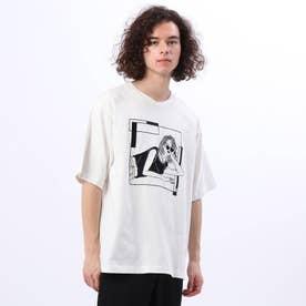 LINE ARTがーる Tシャツ (ホワイト)