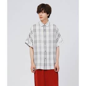 フレンチスリーブシャツ (チャコールグレー)