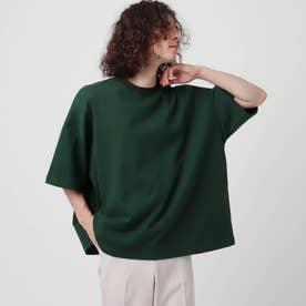 【WEB限定】ヘビーウエイトスクエアビッグTシャツ (モスグリーン)