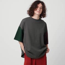 【WEB限定】ヘビーウエイトスクエアビッグTシャツ (ブラック)