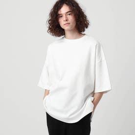 【WEB限定】ヘビーウエイトスクエアビッグTシャツ (オフホワイト)