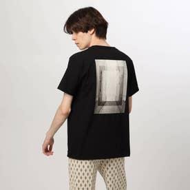 バックフォトTシャツ (ブラック)