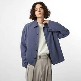 ハイネックシャツ (ブルー)