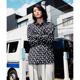 Eiji Fukui×コラボSmall Flowerシャツ (ブラック)