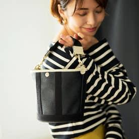 【小山田早織さんコラボ】スコッチグレイン 2way バケットバッグ S (ブラック)