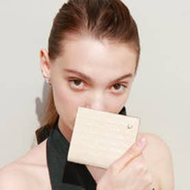 RITMO[リトモ]メッシュ柄型押し・二つ折りミニ財布(オフ)