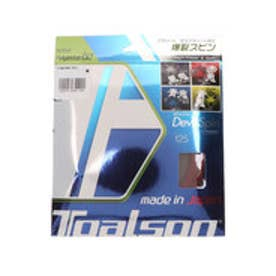 硬式テニス ストリング レンコン・デビルスピン125α レッド 7352510R