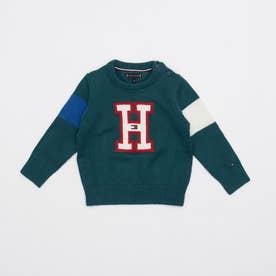Hロゴセーター (グリーン)