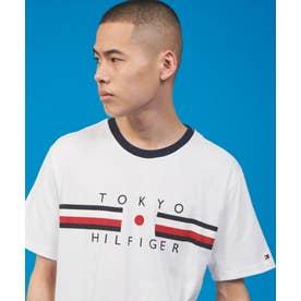 【日本限定】フラッグロゴTシャツ (ホワイト)