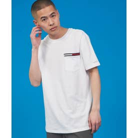 JS M SIGNATURE SS POCKET TEE (ホワイト)