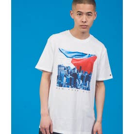 フォトプリント Tシャツ (ホワイト)