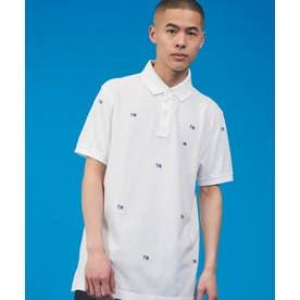 モノグラム ポロシャツ (ホワイト)