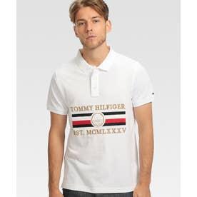 ノーティカルエンブロイダリーポロシャツ (ホワイト)