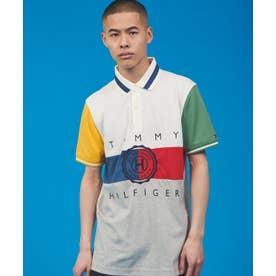 カラーブロック ポロシャツ (マルチ)