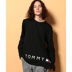 ロゴロングスリーブTシャツ (ブラック)