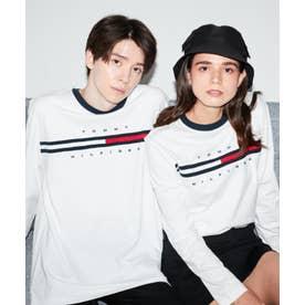 ロゴ ロング Tシャツ / TINO TEE L/S (ホワイト)