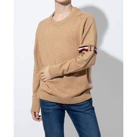 モノグラムセーター (ブラウン)