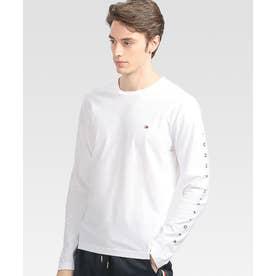 グラフィックロゴロングTシャツ (ホワイト)