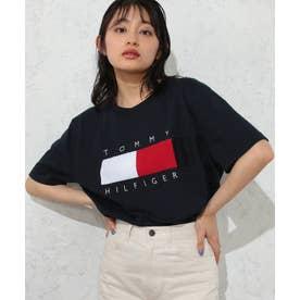 フラッグロゴTシャツ (ネイビー)
