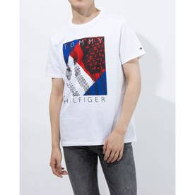 JS SPANGLED TEE BRIGHT WHITE (ホワイト)