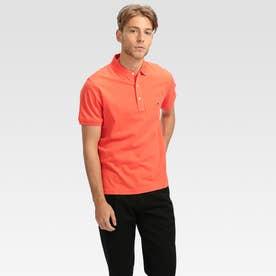 コットンベーシックポロシャツ (オレンジ)