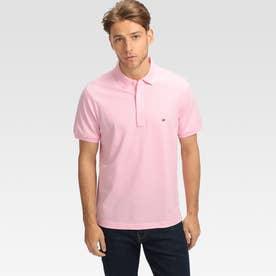 コットンベーシックポロシャツ (ピンク)