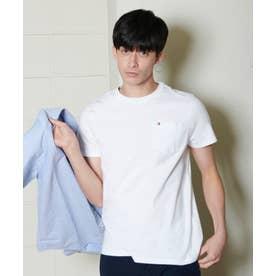 コットン ポケット Tシャツ (ホワイト)