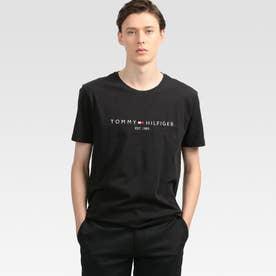 ベーシックロゴTシャツ (ブラック)
