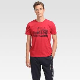フォトプリントTシャツ (レッド)