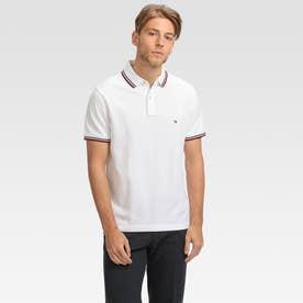 スリムフィットポロシャツ (ホワイト)