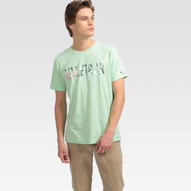 フローラルロゴ Tシャツ (グリーン)