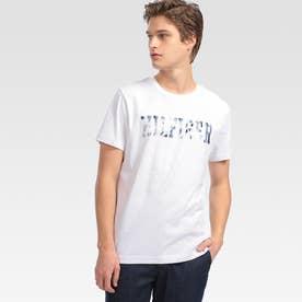 フローラルロゴ Tシャツ (ホワイト)