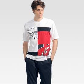 クレストパネルTシャツ (ホワイト)