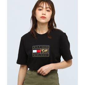 アースバッジTシャツ (ブラック)
