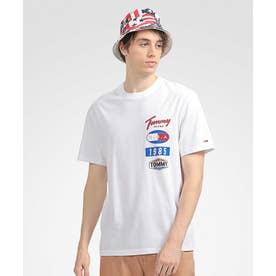 ロゴパッチTシャツ (ホワイト)