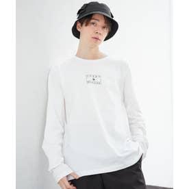 【オンライン限定】フラッグプリントロンT (ホワイト)
