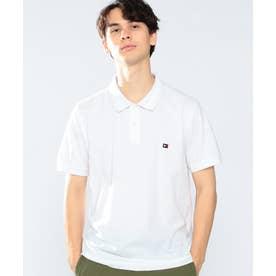スリムフィットベーシックポロシャツ (ホワイト)
