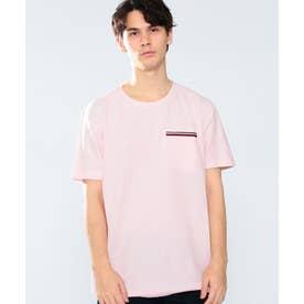 コットンポケットTシャツ (ピンク)