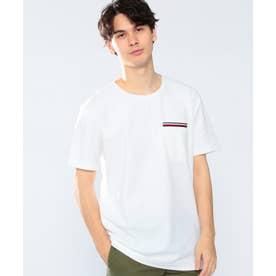 コットンポケットTシャツ (ホワイト)