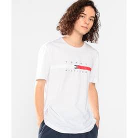 フラッグロゴTシャツ (ホワイト)